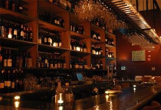 An actual wine bar